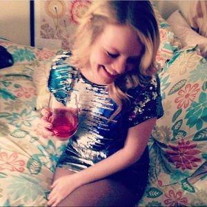 Urban Outfitters sequinned mini dress